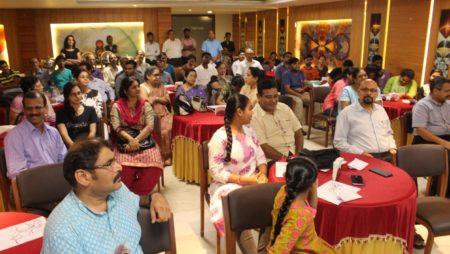 Meet Cartoonist Satish at Manipal