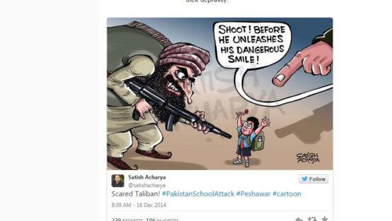 Scared Taliban!