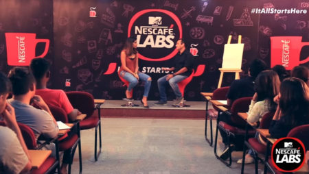 Cartoonist Satish Acharya – Cartooning Workshop – MTV presents