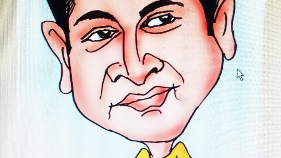 Caricature by Keshav Sasihitlu