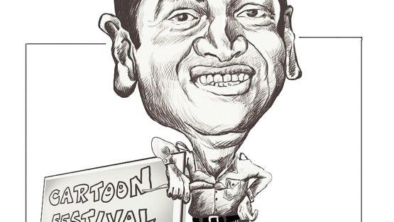 Caricature by Vijay Kumar Musale