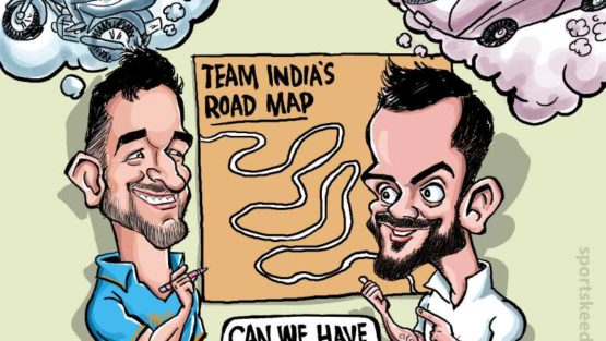 Dhoni-Virat draw Team India's road-map!