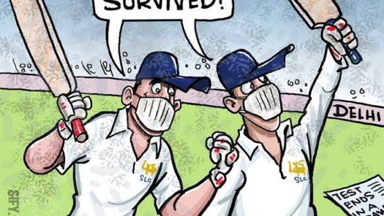 Sri Lanka manages a draw in Delhi Test!