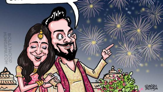 Look Who Celebrated Virat-Anushka Wedding!