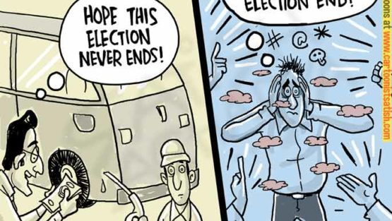 Hope this election never ends!